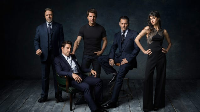 Read This: A tribute to the lost, dumb potential of Universal's abandoned Dark Universe