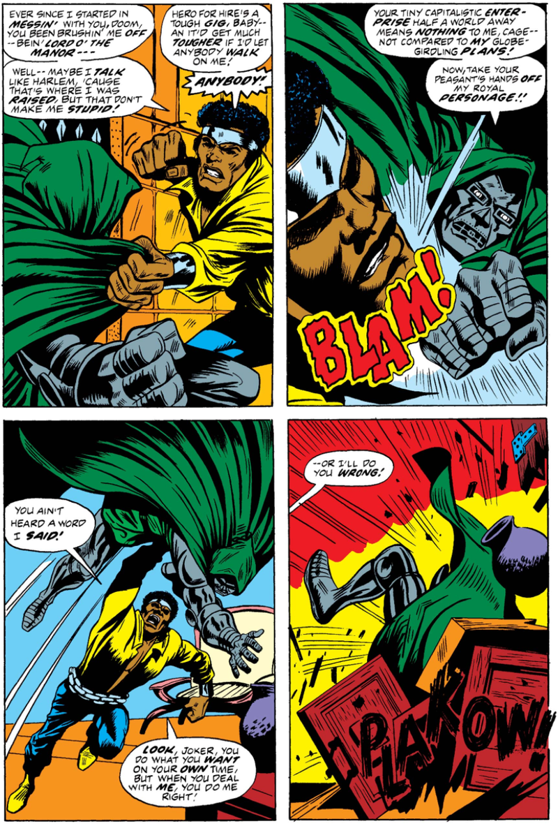 My Conflicting Feelings About the Internet's Favorite Luke Cage Panel