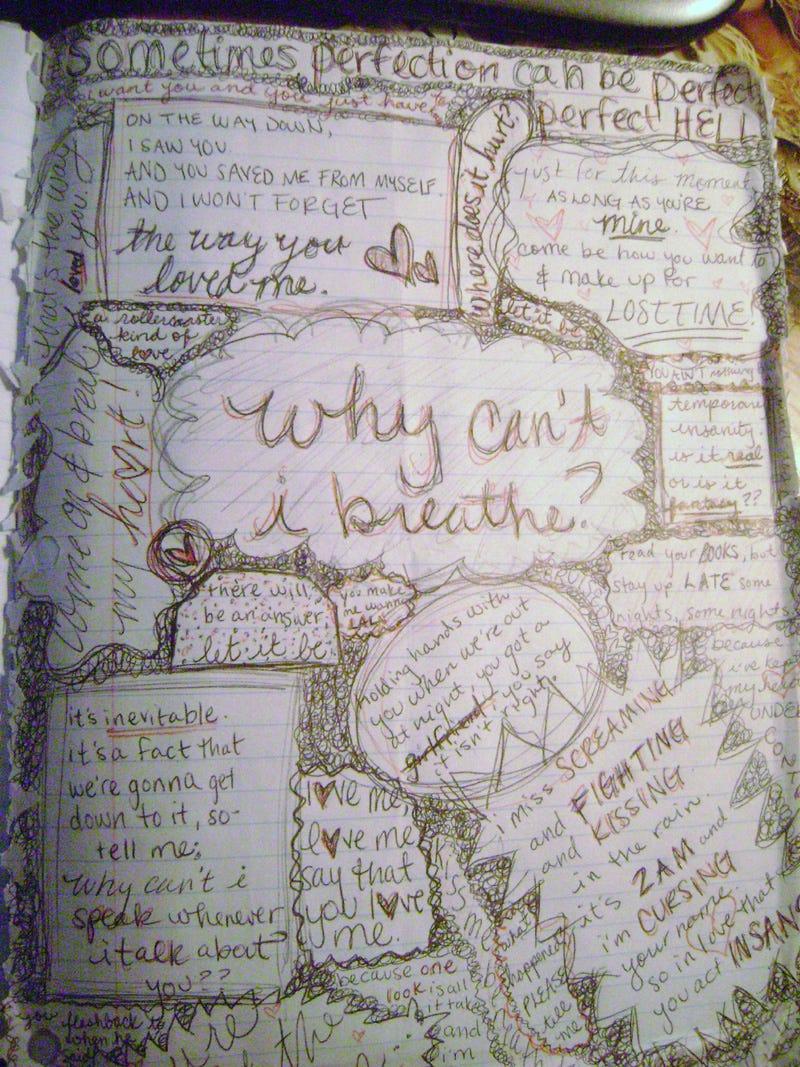 teenage wasteland your old diaries are awkward awe inspiring