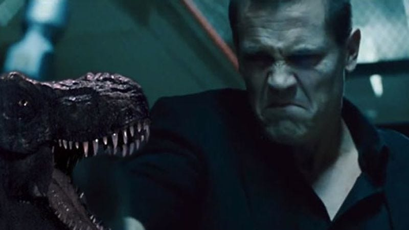 Illustration for article titled Josh Brolin might have to stomp some dinosaurs in Jurassic World