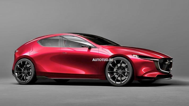 mazda kai concept if the next mazda 3 looks this good we should throw a party. Black Bedroom Furniture Sets. Home Design Ideas
