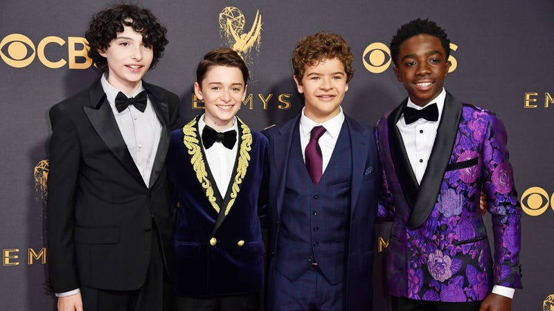 Some child actors in adventurous formalwear. Image: Getty