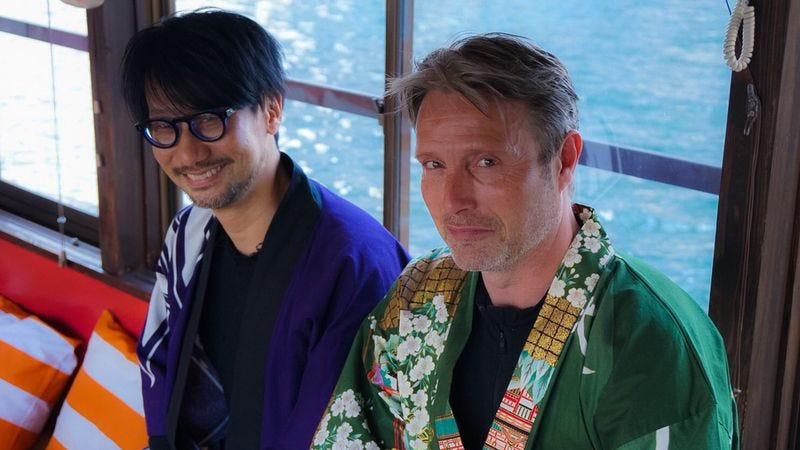 Photo: Hideo Kojima