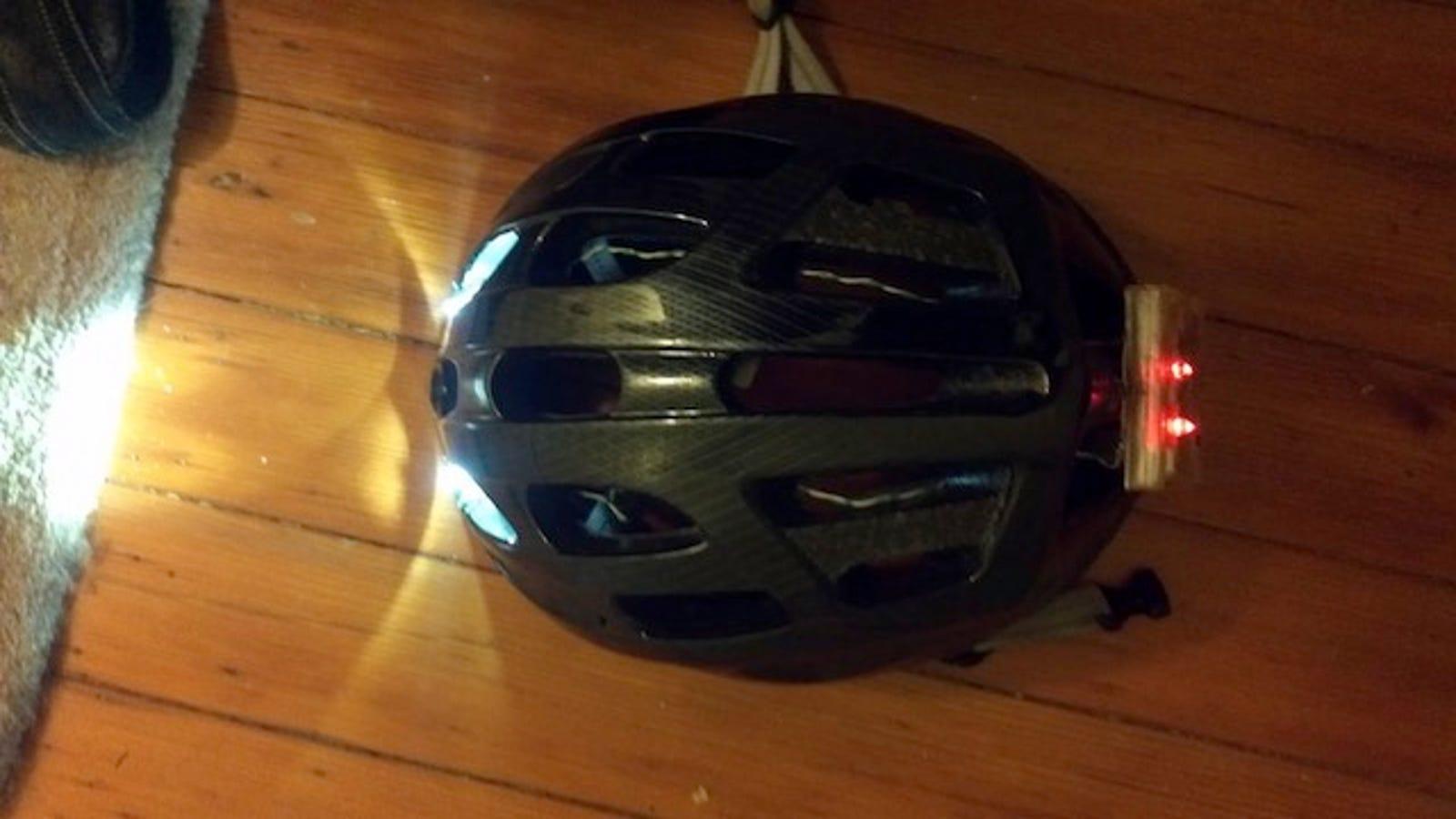 Build Your Own Rechargeable Bike Helmet Light