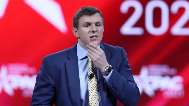 Project Veritas Reportedly Turned Its Feckless Smear Machine on Trump s FBI