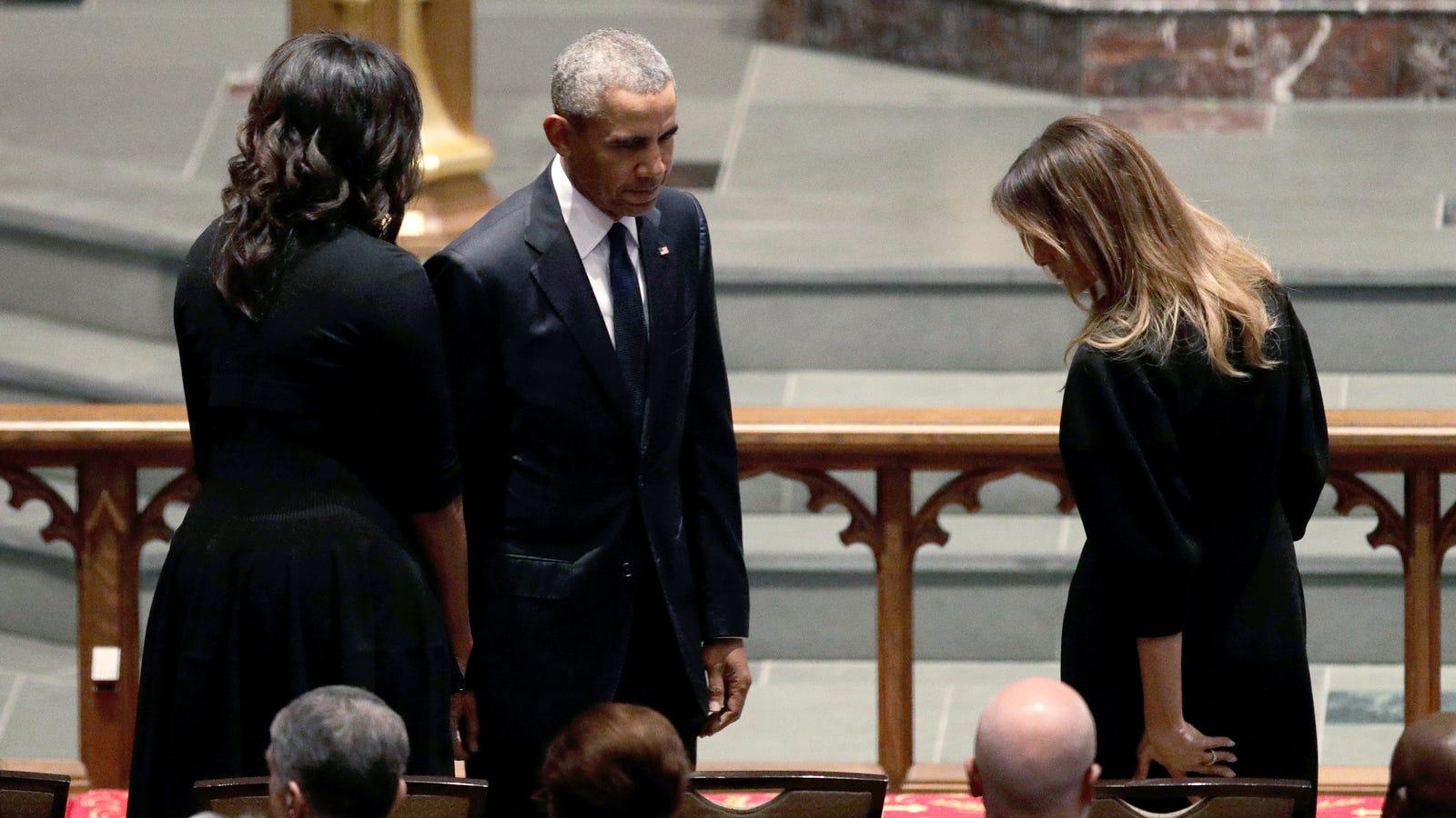Even Melania Trump Misses Former President Barack Tchalla Obama