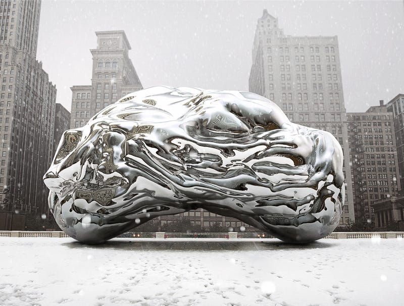 Illustration for article titled Frigid Chicago Bean Shrivels Up From Below-Zero Temperatures
