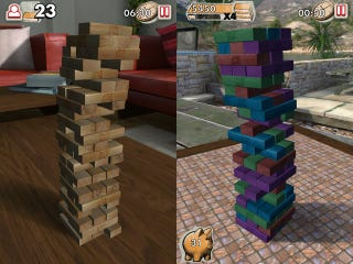 Illustration for article titled Remove Blocks Carefully in the Official Jenga iPhone App