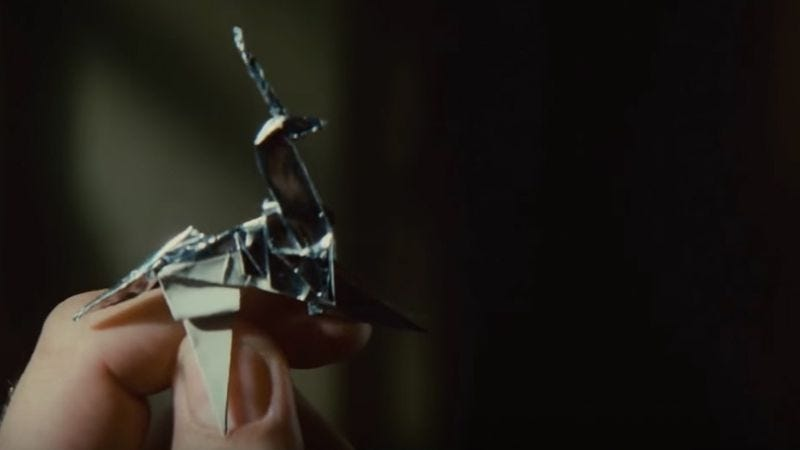 Illustration for article titled Here's how to make the origami figures from Blade Runner