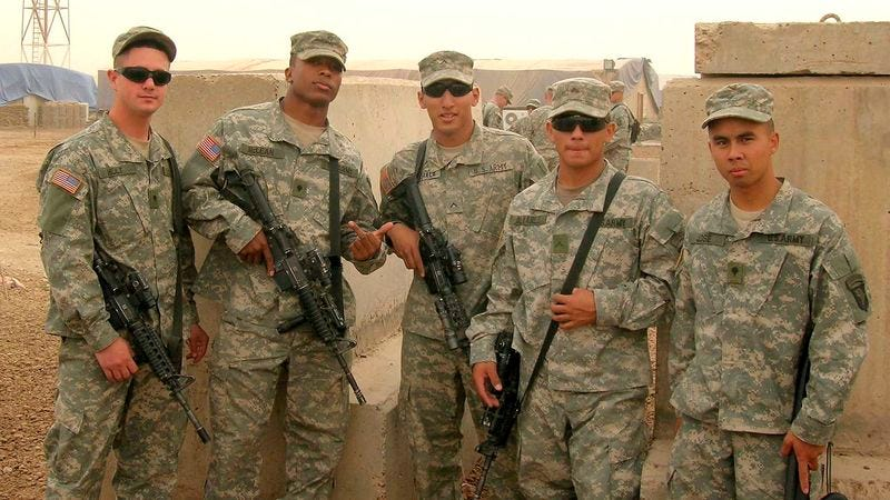 Military service members okay with gay soldiers
