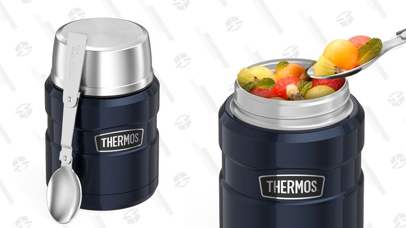 Thermos Stainless King 16 Ounce Food Jar with Folding Spoon | $20 | Amazon