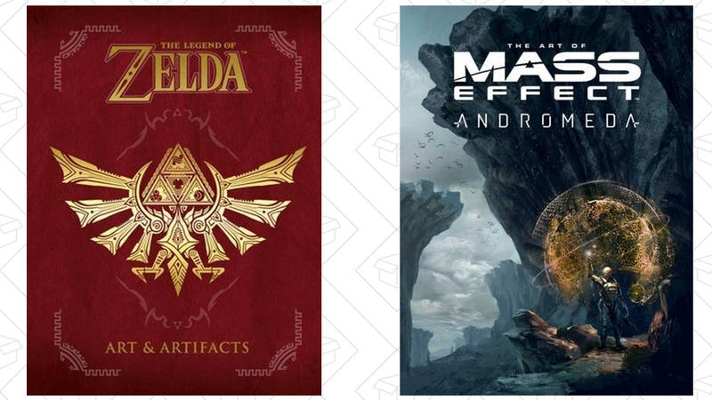 The Legend of Zelda: Art & Artifacts, $20 | Preorder The Art of Mass Effect: Andromeda, $20
