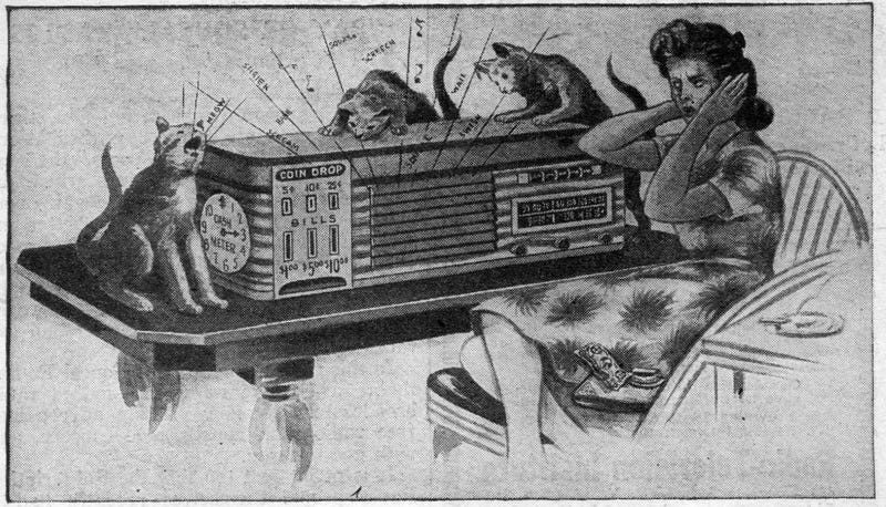 drawn 1940s porn - But back in the 1940s, one company was trying to make ad-free subscription  radio a reality.