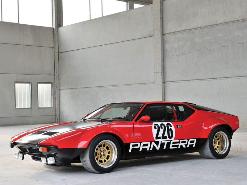 Illustration for article titled Guise...Pantera Rally Car for Sale