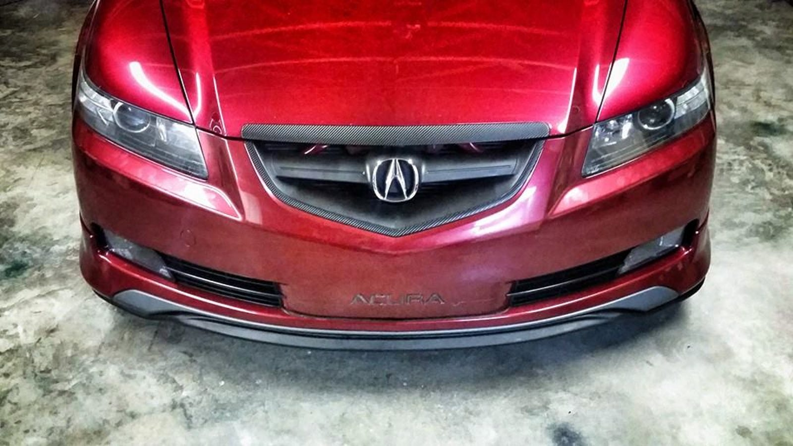 Why Do STI Front Lips Fit So Well On HondasAcuras - 2005 acura tl front lip