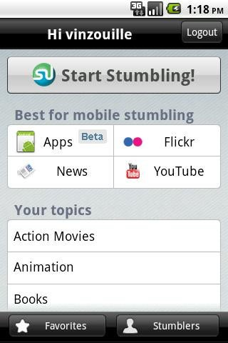 Illustration for article titled StumbleUpon App Discovery Guides You To New Android Apps