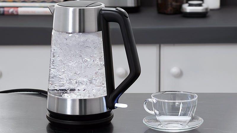 OXO On Cordless Glass Electric Kettle | $64 | Amazon