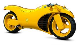 Ferrari Motorcycle Fails To Appreciate Ferrari Brand