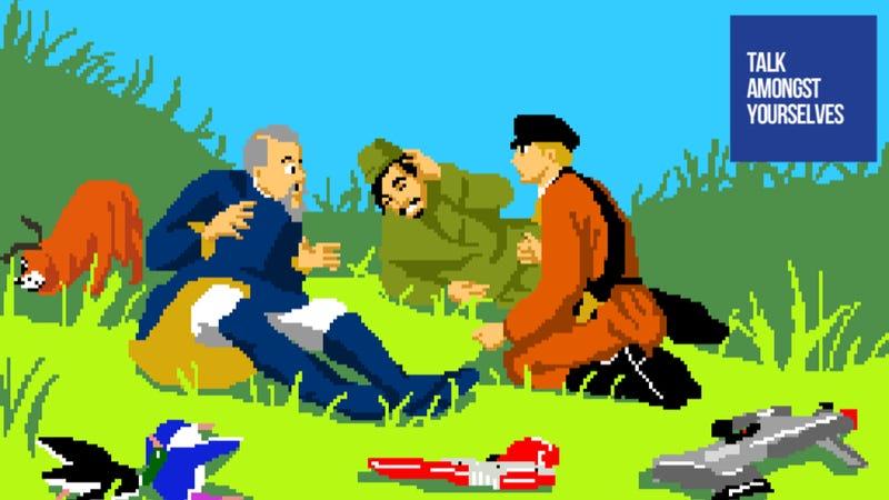 Illustration for article titled Weekend Talk Amongst Yourselves