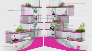 Illustration for article titled It's OK to Admit You Want to Live in Architect Barbie's Mansion