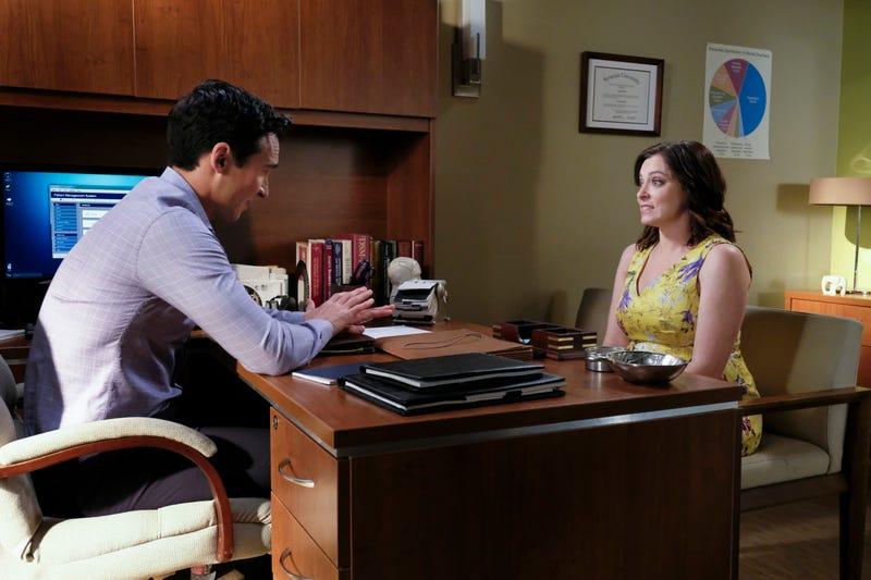 Jay Hayden, Rachel Bloom (Photo: Scott Everett White/The CW)