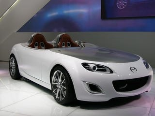 Illustration for article titled Mazda MX-5 Superlight Concept: Live Photos