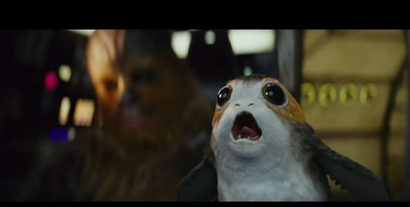The main character of this movie as I understand it. Screenshot via The Last Jedi/LucasFilm