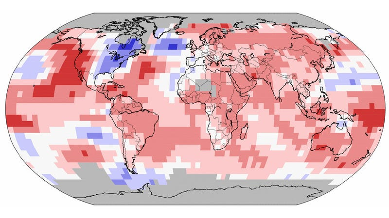 Illustration for article titled Our Planet Just Experienced The Warmest Start To The Year On Record