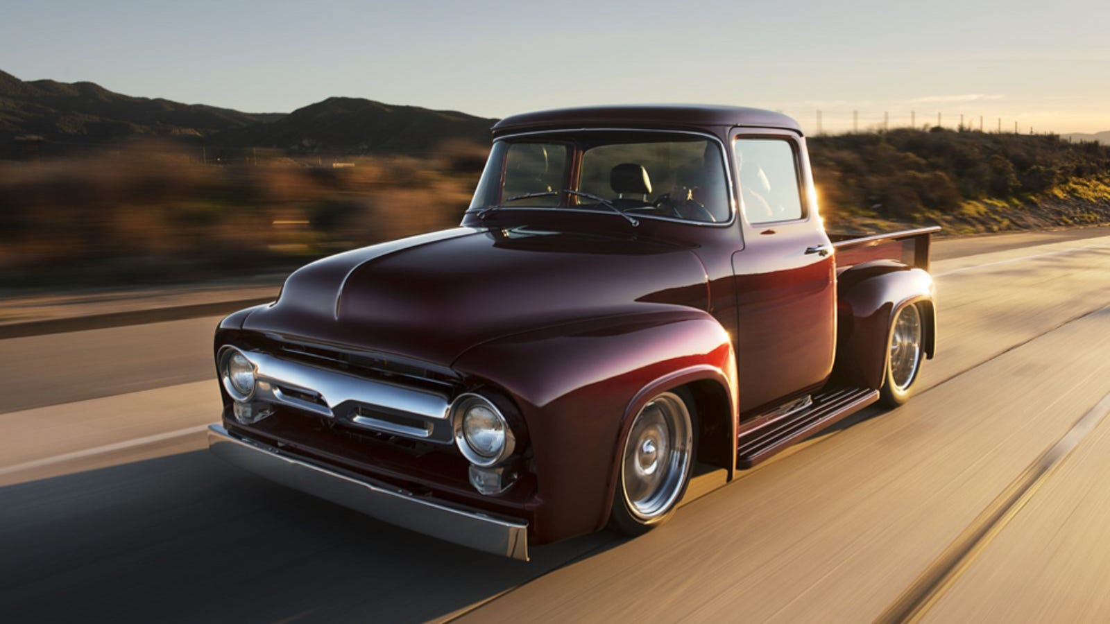 This Indie Shop Is Producing A Line Of \'Brand New\' 1956 Ford Trucks