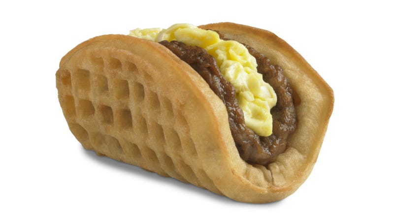 Illustration for article titled Foods That Should Not Exist: The Entire Taco Bell Breakfast Menu
