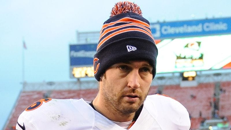 Illustration for article titled Bears GM Hoping To Motivate Jay Cutler With More Guaranteed Money