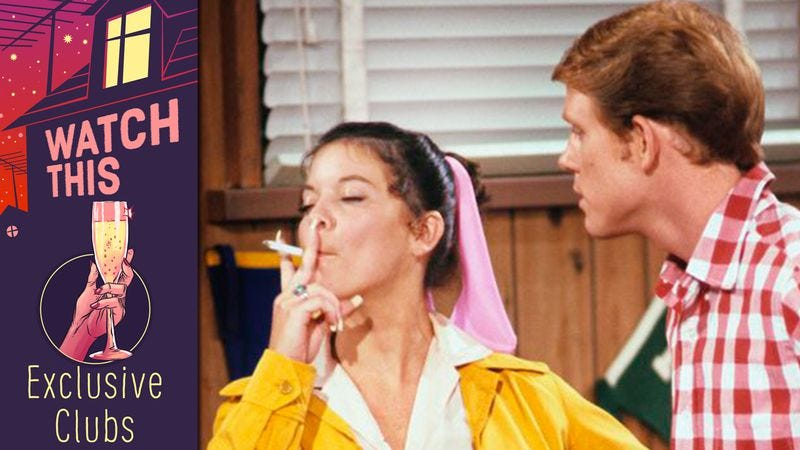 """Illustration for article titled Happy Days offered a very special episode on the """"uncoolness"""" of smoking"""