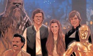 Illustration for article titled Marvel da pistas de la trama entre los episodios VI y VII de Star Wars