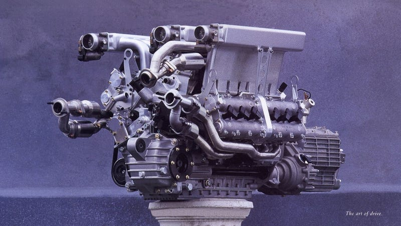 Illustration for article titled Volkswagen Made An Even Weirder Engine Before The Bugatti W16