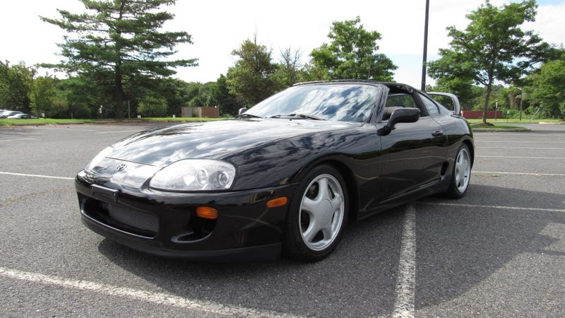 Watch Another Low-Mileage 1994 Toyota Supra Get Expensive