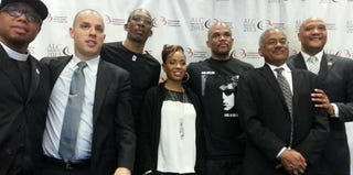 Members of the Hip-Hop and Politics panel at the CBCF conference (Courtesy of CBCF)
