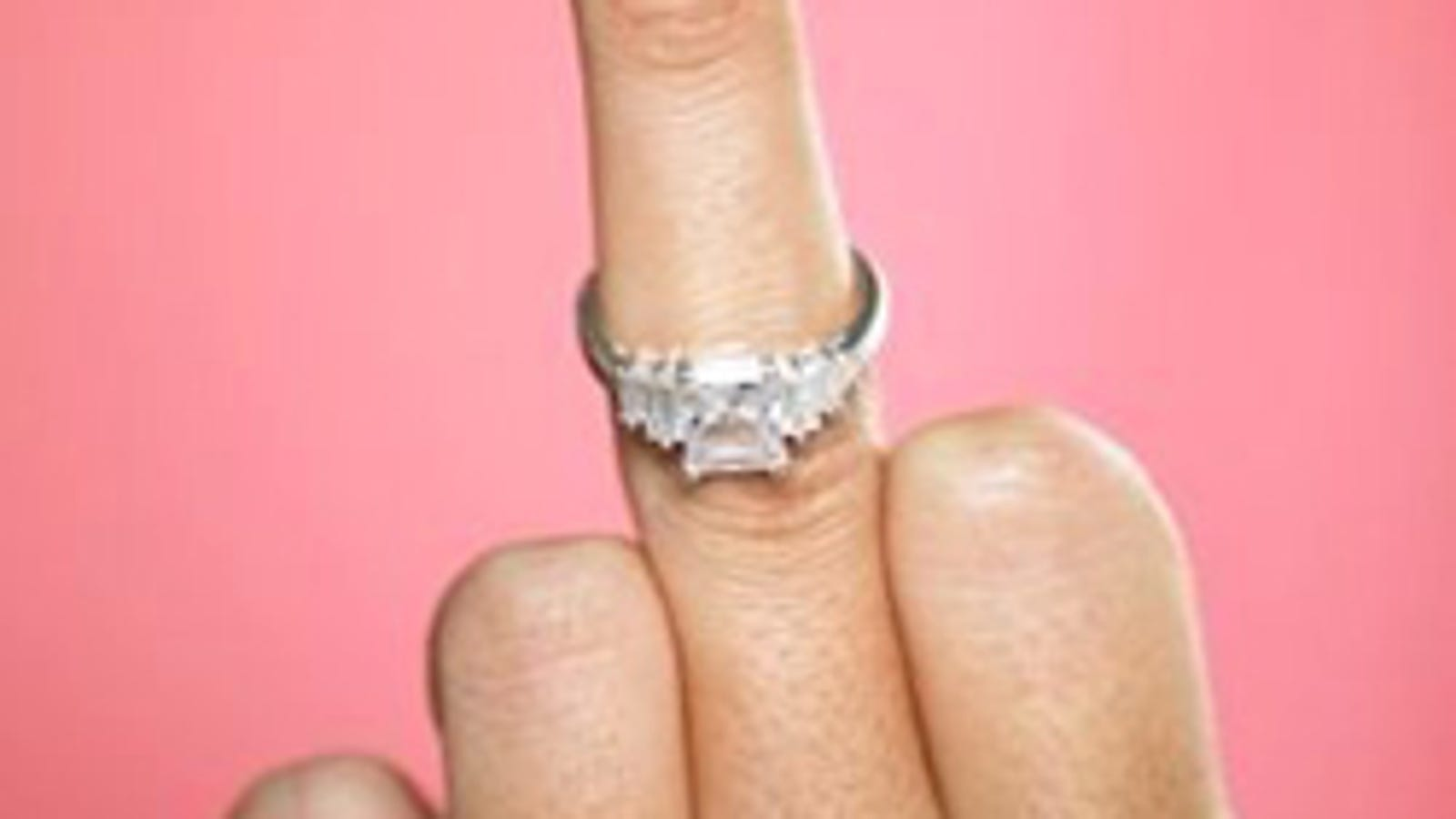 Rites Of Passage: Throwing Your Engagement Ring In Anger