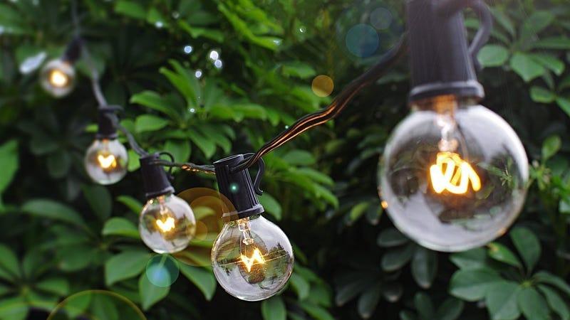 25' Globe String Lights | $9 | Amazon | Use code 3QV7EIWN