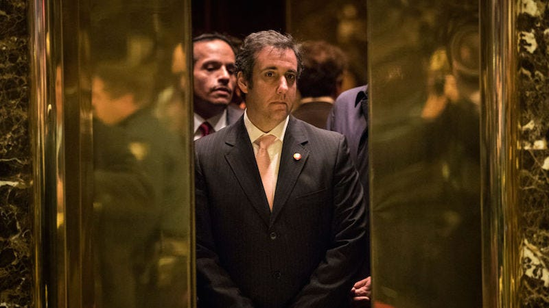 Illustration for article titled Michael Cohen Is a Busy Man