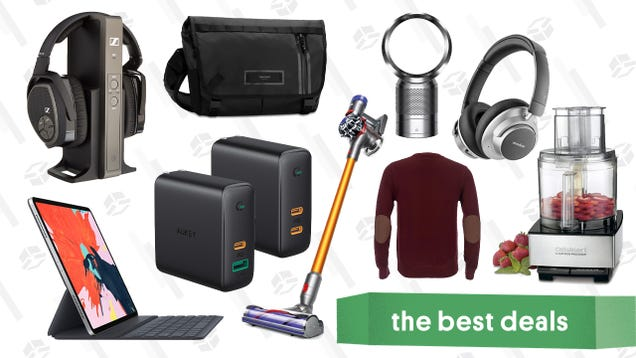 Wednesday s Best Deals: Dyson Vacuums, Timbuk2 Bags, Aukey USB-C Chargers, and More