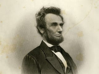 Portrait of Abraham Lincoln in 1865/iStockphoto