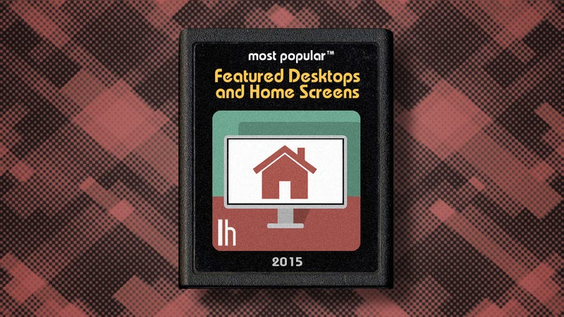 Illustration for article titled Most Popular Featured Desktops and Home Screens of 2015