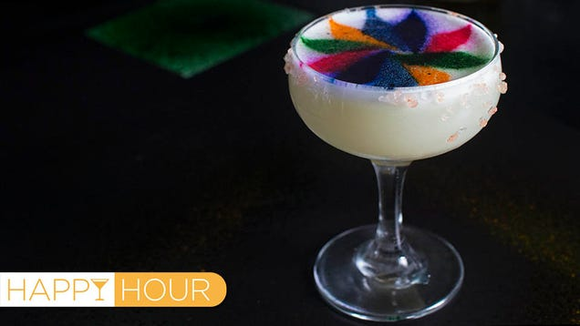 Technicolor Margaritas: Now Rainbow Food Can Get You Drunk Too
