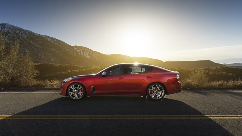 Illustration for article titled Here Are The Official—Official!—Price Figures For The Kia Stinger