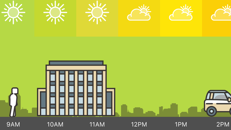 Illustration for article titled Check the Weather for Your Daily Routine With This App