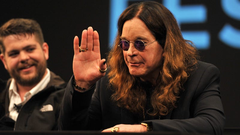 Illustration for article titled Ozzy Osbourne shows rare signs of mortality by canceling tour dates, undergoing hand surgery