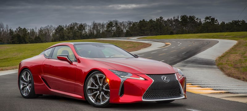 The New Lexus LC 500 Isnu0027t Just A New Car For The Company; Itu0027s A New  Rear Drive U201cpremiumu201d Platform. It Does, However, Get A Very Familiar  467 Horsepower ...
