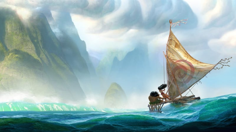 Illustration for article titled Disney's New Princess Is an Ocean Explorer From the South Pacific