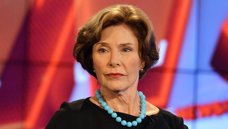 Illustration for article titled Laura Bush Publishes Courageous Op-Ed Calling For Imprisonment Of Whoever Created ICE