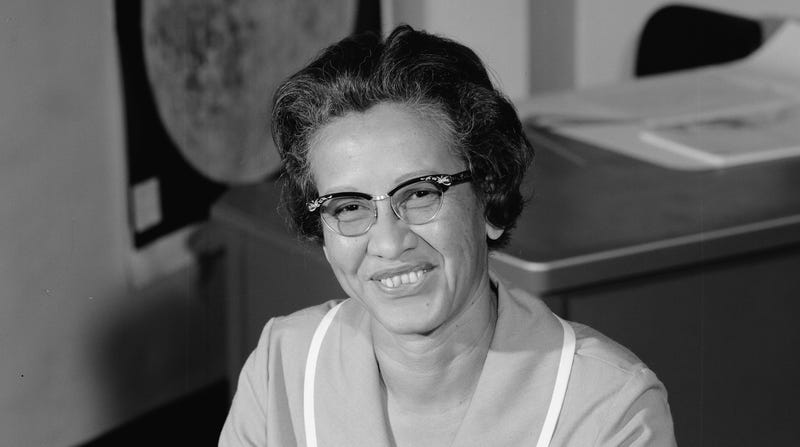 Katherine Johnson in 1966